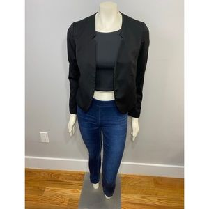 H&M Black Blazer with Pockets